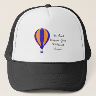 Hot Air Balloonist Saying Hat