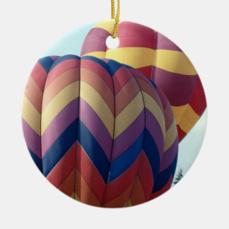 Hot Air Balloons (10) Ceramic Ornament