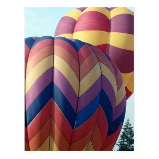 Hot Air Balloons (10) Postcard