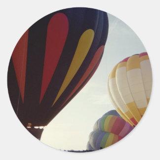 Hot Air Balloons #1 Classic Round Sticker