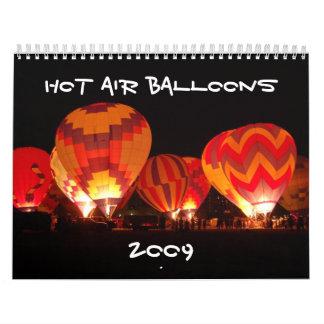 Hot Air Balloons , 2009 Calendar