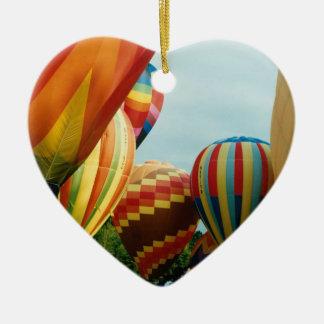 Hot Air Balloons (3) Ceramic Ornament