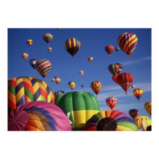Hot Air Balloons Albuquerque - Photo Art Print