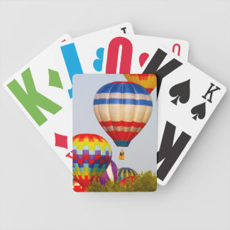 Hot Air Balloons, Balloon Fest, Olathe, Kansas 2 Bicycle Playing Cards