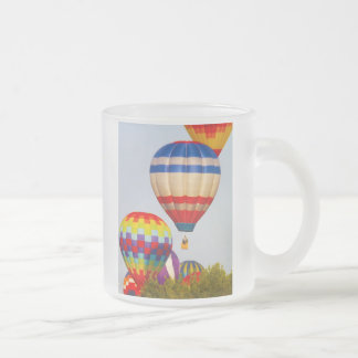 Hot Air Balloons, Balloon Fest, Olathe, Kansas 2 Frosted Glass Coffee Mug