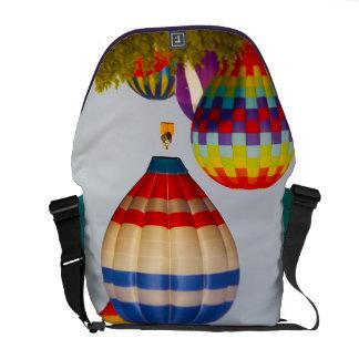 Hot Air Balloons, Balloon Fest, Olathe, Kansas 2 Messenger Bag