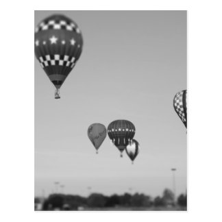 Hot Air Balloons, Balloon Fest, Olathe, Kansas 3 Postcard