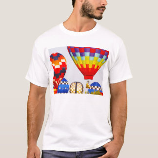 Hot Air Balloons, Balloon Fest, Olathe, Kansas T-Shirt