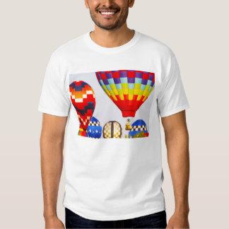Hot Air Balloons, Balloon Fest, Olathe, Kansas Tee Shirt