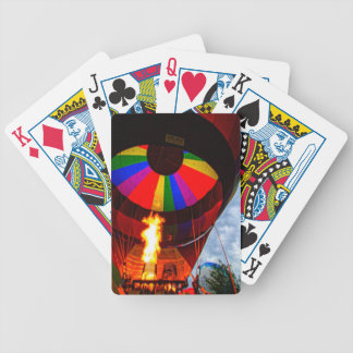 Hot Air Balloons Bicycle Playing Cards