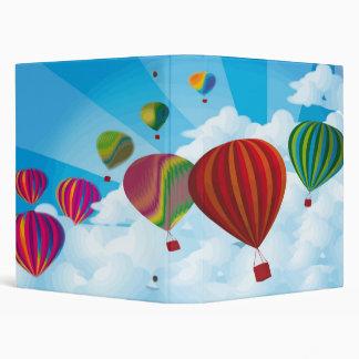 Hot Air Balloons Binder