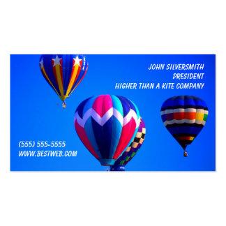 Hot Air Balloons Business Card Template
