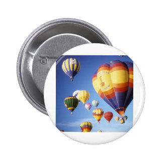 Hot air balloons 2 inch round button