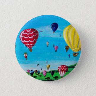 Hot Air Balloons Button