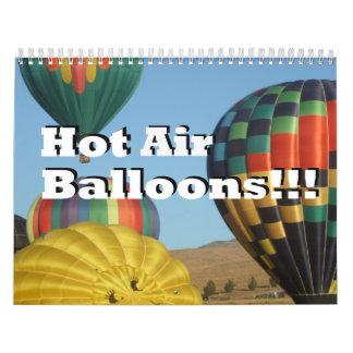 Hot Air Balloons!!! Calendar