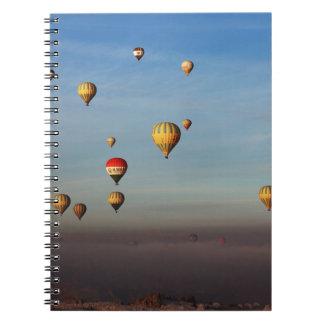 Hot Air Balloons, Cappadocia Spiral Notebook