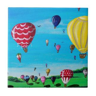 Hot Air Balloons Ceramic Tiles