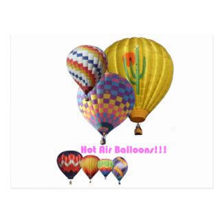 Hot Air Balloons!!! Collage Postcard