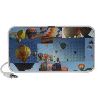 Hot Air Balloons Collage Speaker