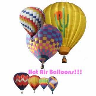 Hot Air Balloons!!! Cutout