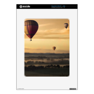 Hot air balloons decals for iPad
