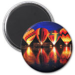 Hot Air Balloons Fridge Magnet