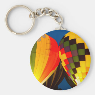 Hot Air Balloons Glow Keychain