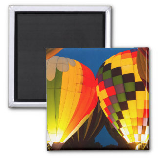 Hot Air Balloons Glow Magnet