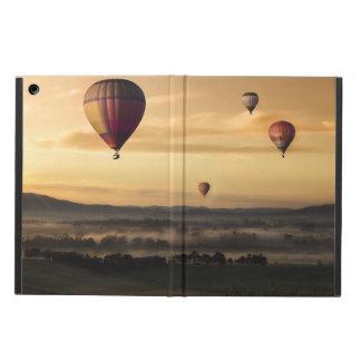 Hot air balloons iPad air cases