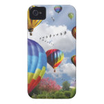 Hot Air Balloons iPhone 4 Case-Mate Hoesjes