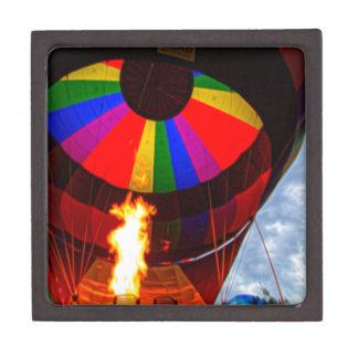 Hot Air Balloons Keepsake Box