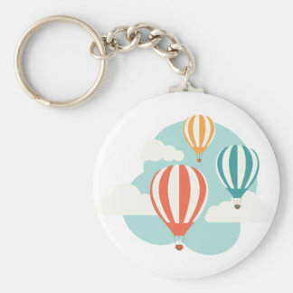 Hot Air Balloons Keychain