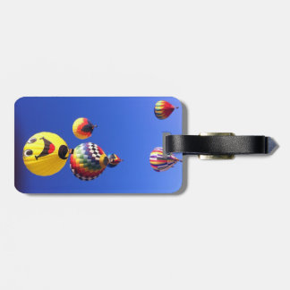 Hot air balloons luggage tag