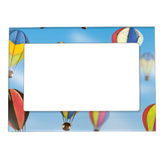 Hot Air Balloons Magnetic Photo Frame