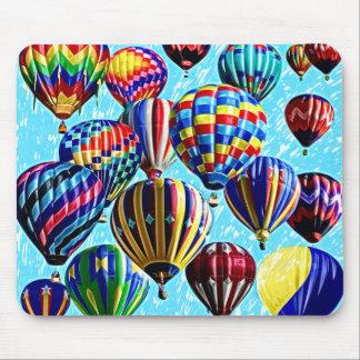 Hot Air Balloons Mouse Pad
