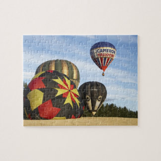 Hot Air Balloons near Wanaka, South Island, New Jigsaw Puzzle