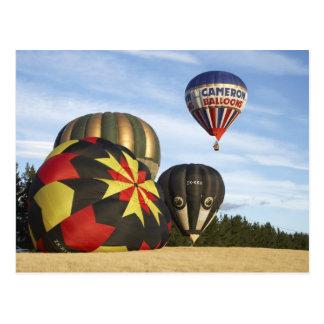 Hot Air Balloons near Wanaka South Island New Post Cards