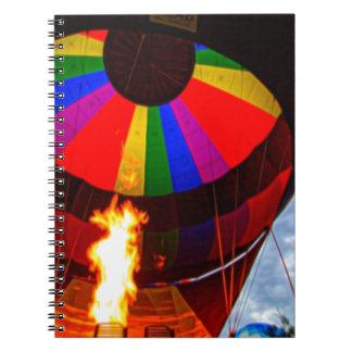 Hot Air Balloons Notebook