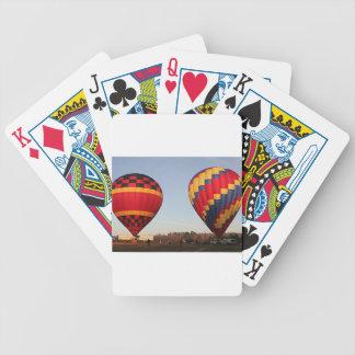Hot air balloons, Orlando, Florida, USA 3 Playing Cards