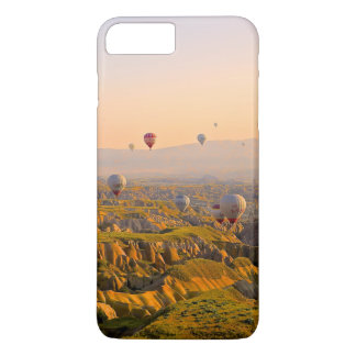 Hot Air Balloons Over a Beautiful Rugged Terrain iPhone 7 Plus Case