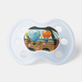Hot Air Balloons Painting Pacifier