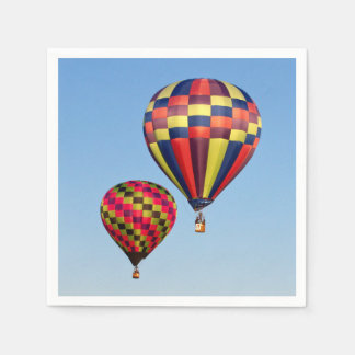 Hot Air Balloons Paper Napkin