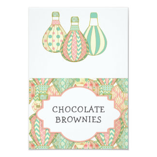 Hot Air Balloons Party Table Tent Card