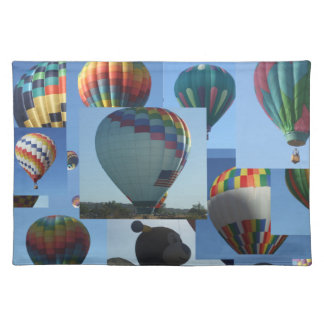 Hot Air Balloons Photo Collage 3 Placemat