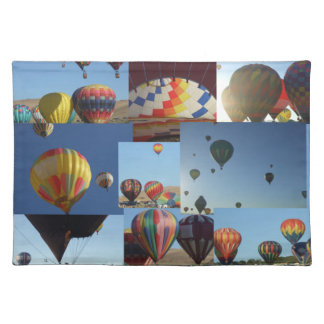 Hot Air Balloons Photo Collage II Placemat