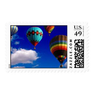 Hot air balloons - Postage stamps