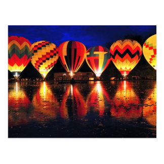 Hot Air Balloons Post Cards
