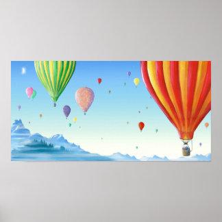 Hot Air Balloons Print