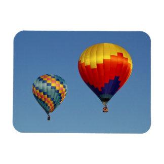 Hot Air Balloons Rectangular Photo Magnet