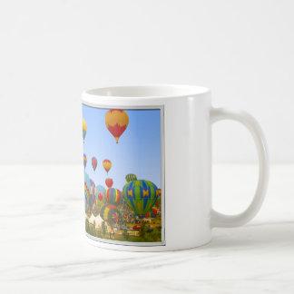 Hot Air Balloons Rising - Coffee Mug
